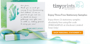 Get (3) free samples from tiny prints.