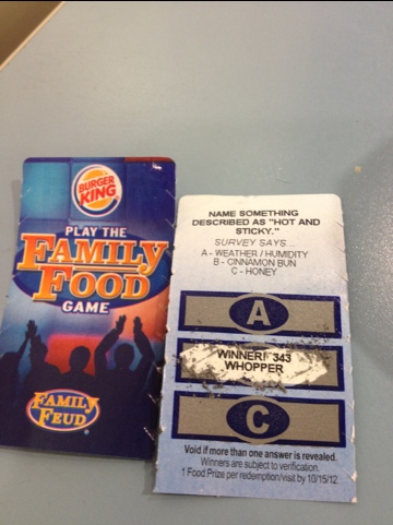 how to win the car on family feud