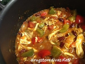 Cook up a twist on traditional chili with this Chicken Chili recipe from www.drugstoredivas.net.