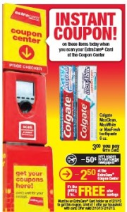 CVS colgate deal